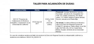 TALLER ACLARACION DE DUDAS