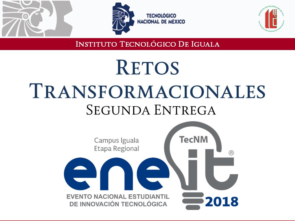 eneit retos transformacionales  2018 segunda entrega