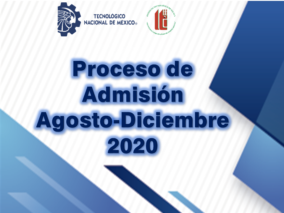 proceso admision a-d 2020